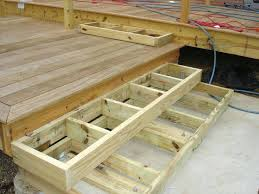 exceptional view larger cost to build a wood patio deck