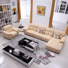 warm sectional sleeper sofa modern beige leather arms sectional sofa white black high gloss wood credenza