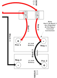 trolling motor 24 volt battery parallel wiring diagram wire center \u2022 Dual Battery Wiring Diagram at 3 Bank On Board Battery Wiring Diagram
