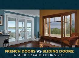 french doors vs sliding doors a guide