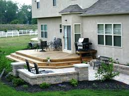 Backyard Deck Design Ideas Custom Building A Patio Deck Deck Designs Above Ground Pool Deck Plans How