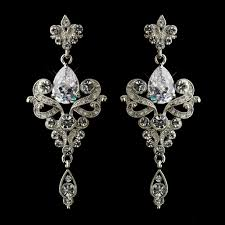 dangle bridal earrings sa8485