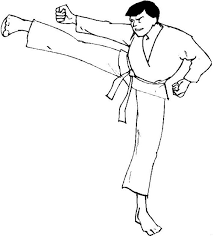Small Picture Kids n funcom 10 coloring pages of Karate