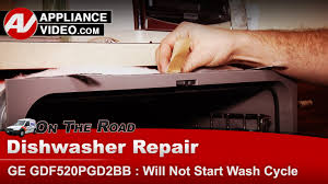 General Electric Dishwasher Troubleshooting Ge Hotpoint Rca Dishwasher Will Not Start Cycle When Start