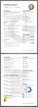 Cv Template Yahoo Ceo Professional Resume Templates