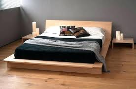 Wooden Bed Frames Queen Image Of Modern Wood Bed Frame Queen Wood