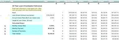 Repayment Schedule Calculator Excel Onourway Co