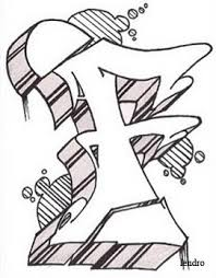 Graffiti Letters Sketch At Paintingvalleycom Explore Collection