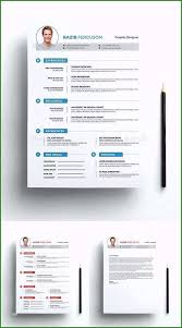 Free One Page Responsive Html Resume Template Wonderful