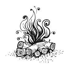 Best Campfire Illustrations Royalty Free Vector Graphics Clip Art