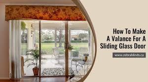 make valance for a sliding glass door