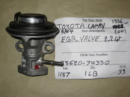 Toyota Camry 1997 to 2001 How to Clean or Replace EGR Valve ...