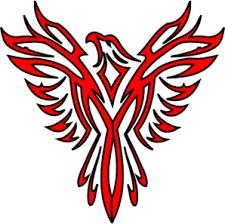 Red Phoenix Clip Art at Clker.com - vector clip art online, royalty free & public domain