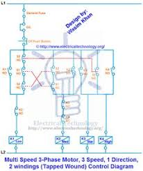 single phase motor control wiring diagram electrical engineering single phase wiring diagram pdf 3 phase motor, 3 speed 1 direction control diagram