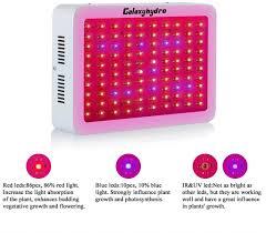 2 roleadro led grow light galaxyhydro series 300w