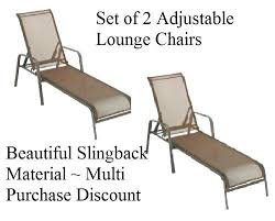 lounging chairs for outdoors. Chaise Lounge Chair Outdoor 2 New Loungers Chairs Pool Slingback Adjustable . Lounging For Outdoors