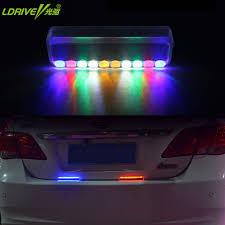 1 Pc Zonne Energie Auto Emergency Led Solar Lampjes Auto Hoofd