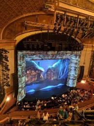 St James Theatre Frozen Seating Chart St James Theatre Section Balcony L Row A Seat 23