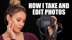 how i take and edit makeup photos facetune enlight tutorial you