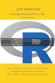 Sample Analysis Enchanting Just Enough R Learn Data Analysis With R In A Day Download Free