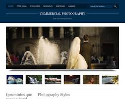Commercial Photography Website Template Free Website