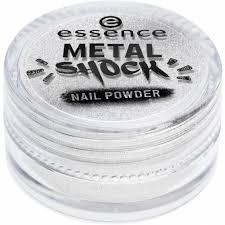Essence Metal Shock Nail Powder Pigment Na Nehty 01 Mirror On The Nail 1 G