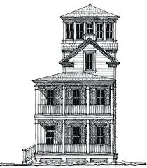 tower house plans tower fire lookout home plans