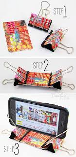 Cell Phone Vending Machine Hack Cool From The Balzer Designs Blog Artful Binder Clip Phone Stand