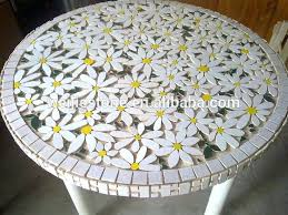 mosaic table top round marble mosaic flower pattern table top mosaic garden table top mosaic table mosaic table top