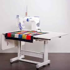 Long Arm Quilting Machine | eBay & Juki TL-2200QVP-S Long Arm Quilting Machine with Sit Down Table Adamdwight.com