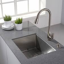 Granite Undermount Kitchen Sinks Stainless Steel Kitchen Sinks Kraususacom