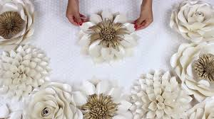 Pearl S Crafts Paper Flower Templates Diy Paper Flower Tutorial My Wedding Backdrop Flowers Template 5