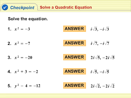 checkpoint solve the equation 1 x 2 3 answer 3 i