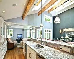 Image Vaulted Family Room Sloped Ceiling Kitchen Lighting Recessed Light Vaulted Ceiling Recessed Lighting Angled Ceiling Vaulted Ceiling Kitchen Lighting 310stonerunroadinfo Sloped Ceiling Kitchen Lighting Recessed Light Vaulted Ceiling