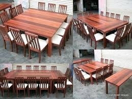 Full Image for Square Dining Table With Side Tables To Extend The Size  Brilliant The Side Large ...