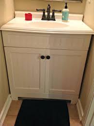 Half Bathroom Vanity Half Bath Archives Ashley Nicole Designs