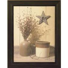 crock and star by billy jacobs antique jug still life country primitive folk art print wall d cor framed picture on primitive framed wall art with crocks and star billy s still life photography watercolor art