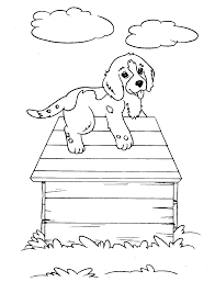 Small Picture Free Printable Dog Coloring Pages For Kids Within Page Of A glumme