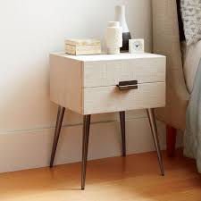 bedroom side drawers white and oak bedside table high gloss bedside table