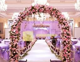 10 x pink bride wedding fake lily artificial arch flower home party decor craft