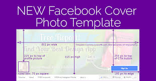 facebook cover photo 2018 template yes it changed again