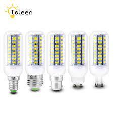 Bombillas Mısır Ampul E27 SMD 5730 Lamparas LED ışık G9 GU10 B22 E14  Lampada LED Lamba