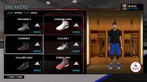nba 2k16 official mycareer th page 171 operation sports forums are the sneakers unlocked only for career mode or park also