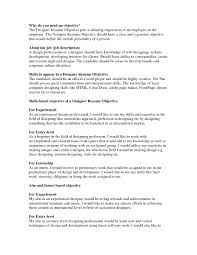 Good Resume Objectives Samples 19 Good Resume Objectives Examples