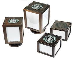 Table Top Product Display Stands Starbucks Prototype TableTop Display Impact Menus 17