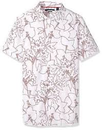Perry Ellis Size Chart Details About Perry Ellis Mens Big And Tall Short Sleeve Floral Outline Shirt