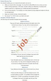 how to write a student resume for a scholarship customer service how to write student resume