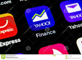 yahoo finance icon. Exellent Finance SanktPetersburg Russia May 10 2018 Yahoo Finance Application Icon On  Apple IPhone X Smartphone Screen Closeup App Icon Social Network For Finance Icon A