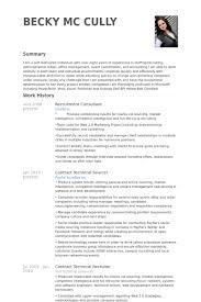 recruitment consultant resume samples sap hr payroll consultant resume