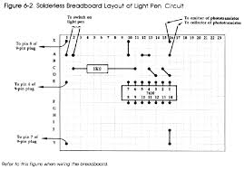 electronic computer projects chapter 6 schematic drawing figure 6 2 breadboard layout